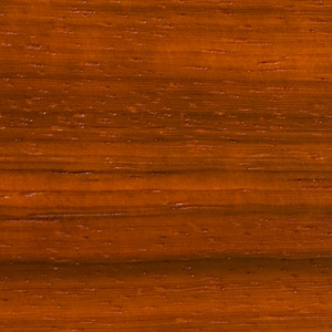 Image showing texture of Paduk wood used to construct McGrath Woodworks taxidermy pedestals, mounts, and other products