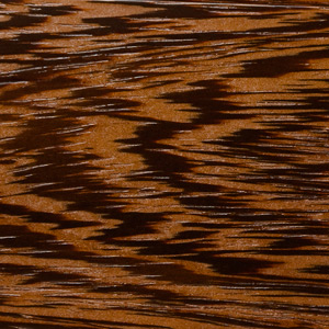 Image showing texture of Wenge wood used to construct McGrath Woodworks taxidermy pedestals, mounts, and other products
